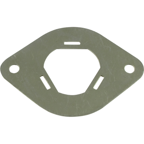 "Mounting Plate - Metal, for 1"" Can Capacitor image 1"