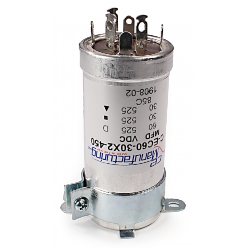"Capacitor Clamp - 1.375"" diameter, for vertical mounting image 2"
