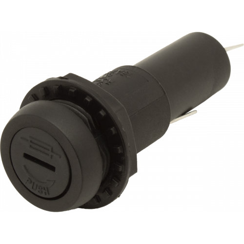 Fuse Holder - GMA or GMD Type, Low Profile, Slotted, Spade Lug image 1