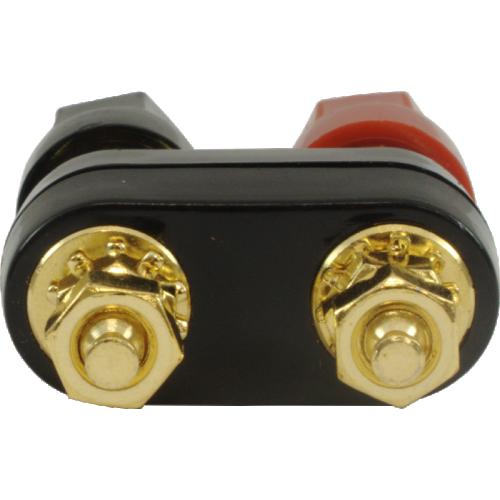 Binding Post - Dual, Gold-Plated, for banana plugs image 2