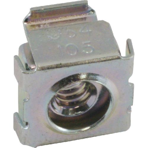 Nut - Cage, Zinc, 10/24, Electroplate Panel Range .064-.105 image 3
