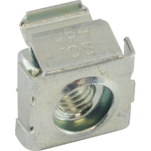 Nut - Cage, Zinc, 10-32, Electroplate Panel Range .064-.105 image 3
