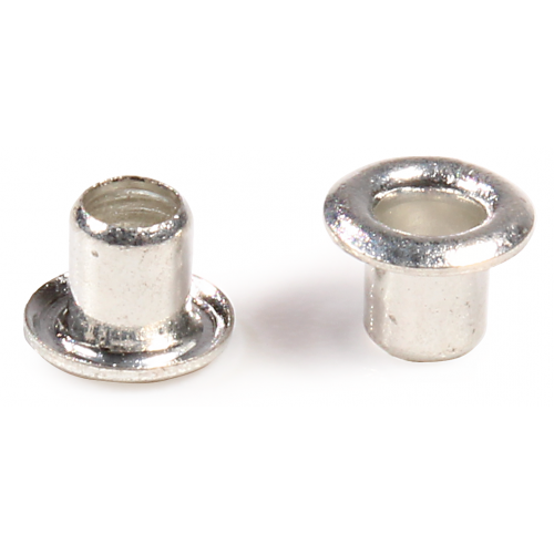 """Eyelets - Plated Brass, Small, .089"""" x .125"""" x .150"""" image 1"""
