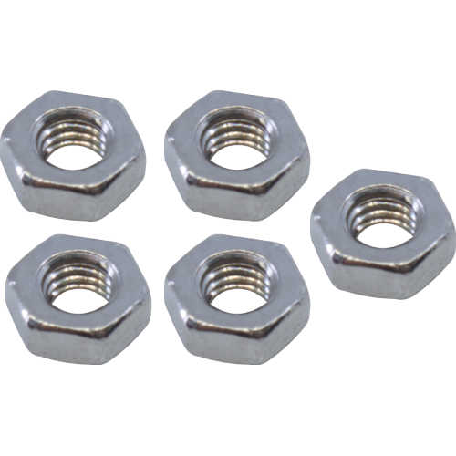 Nut - M3-0.5 Hex Nut, Stainless Steel image 1
