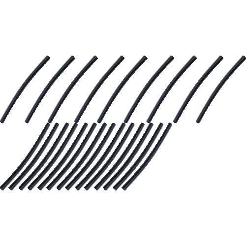 "Heat Shrink - 1/4"" Diameter x 6"" Long, 23 Pieces image 1"