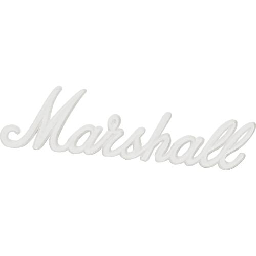 """Original Large 11/"""" Marshall White Script Logo for JCM 800 900 2000"""
