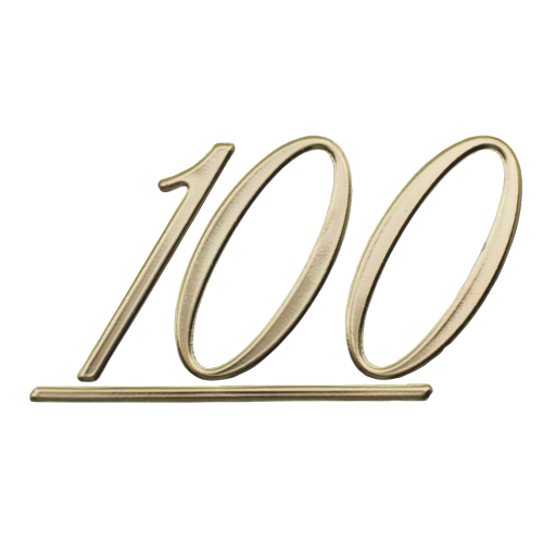 Logo - Marshall, Gold, 100, for cabinets image 1