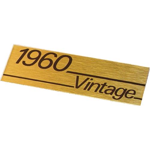Faceplate - Marshall, 1960 Vintage plate image 1