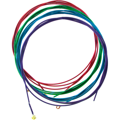 Acoustic Guitar Strings - Arkay, Colored image 1