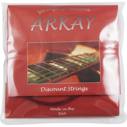 Acoustic Guitar Strings - Arkay, Colored image 2