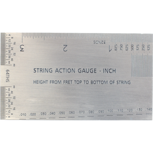 photo about String Action Gauge Printable referred to as String Stage Gauge - Dimension Device