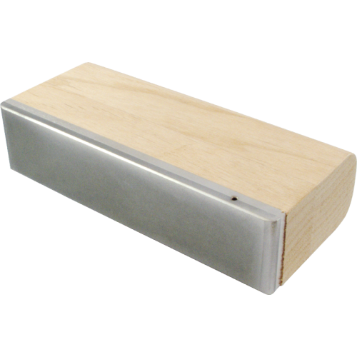 Fret Leveling File - Diamond, 600 grit, Wooden Grip image 2