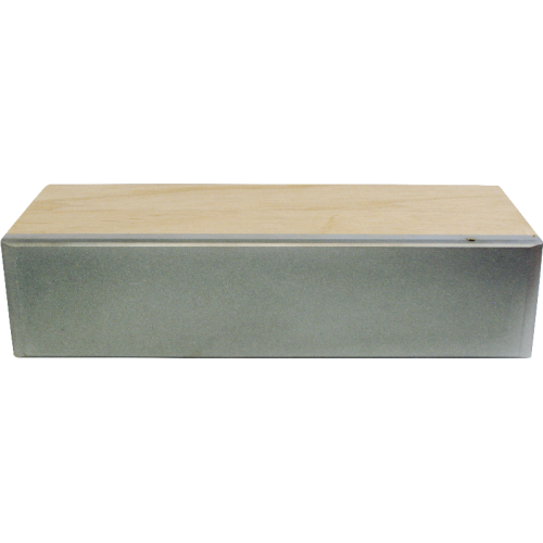 Fret Leveling File - Diamond, 600 grit, Wooden Grip image 3