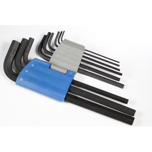 Hex Key Set - Allen®, Long Arm, 9 Piece, Metric image 2
