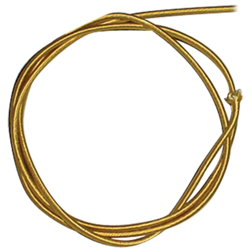 Wire - 18 Gauge Braided Power Cord, Parallel Gold, Per Foot image 1