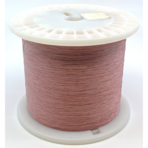 Wire - 38 AWG, Celanese covered, cotton wrap image 1