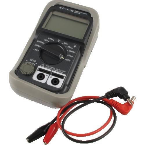 Digital Capacitance Meter - YF-150, 9 ranges image 1