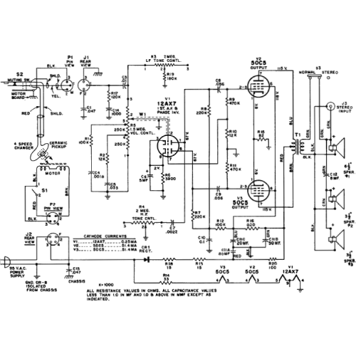 Schematic Service - Radio, Hi-Fi Amps, Tuners, Receivers, etc. image 1