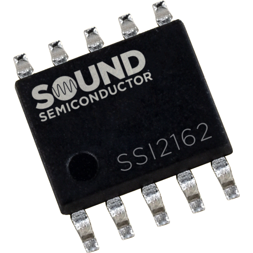 Integrated Circuit - SSI2162, Dual VCA, Sound Semiconductor image 1