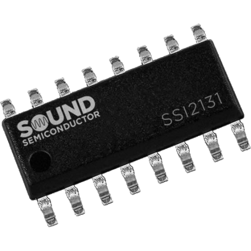 Integrated Circuit - SSI2131, VCO, Sound Semiconductor image 1