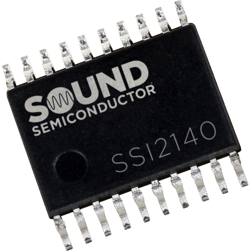 Integrated Circuit - SSI2140, Multi-Mode VCF, Sound Semiconductor image 1