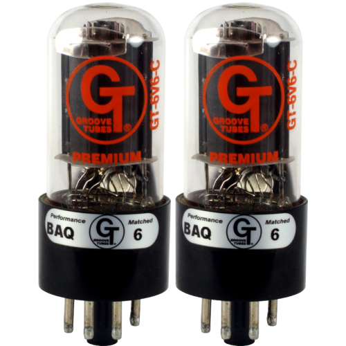 Vacuum Tube - 6V6 C, Groove Tubes, Matched Pair image 1