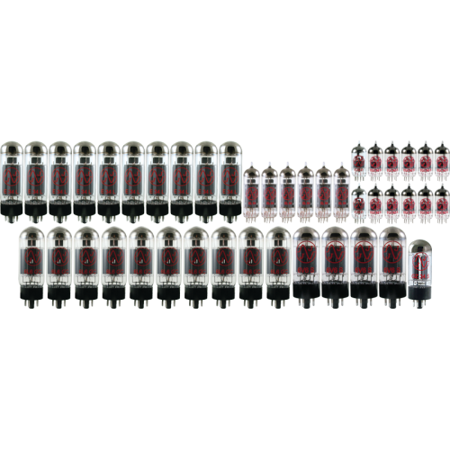 Vacuum Tube Set - JJ Electronics stock package, 43 tubes total image 1