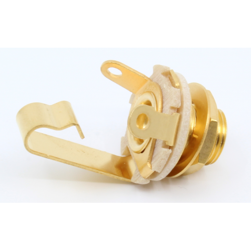 "Jack - Switchcraft, ¼"", Mono 2-Conductor, Open Circuit, Gold Plated image 2"