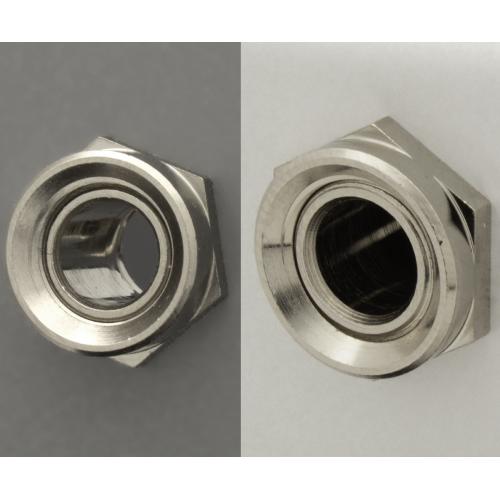 "Nut - Switchcraft, Dress Nut / Sealing Nut, ⅜""-32 UNEF-2A image 1"