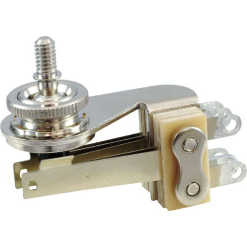 Switch - Switchcraft, Pickup Selector Toggle, 3-Way, right angle image 1