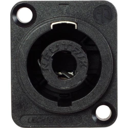 Speaker Twist Jack - Neutrik, speakON, 4-pole, panel mount image 2