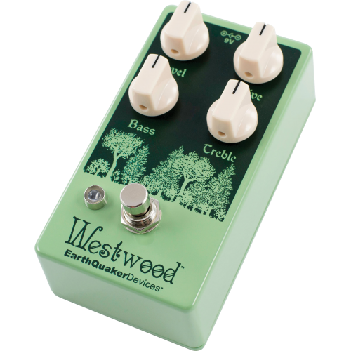 Effects Pedal – EarthQuaker Devices, Westwood™, Translucent Drive Manipulator image 2