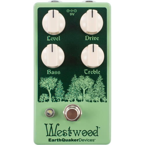 Effects Pedal – EarthQuaker Devices, Westwood™, Translucent Drive Manipulator image 1