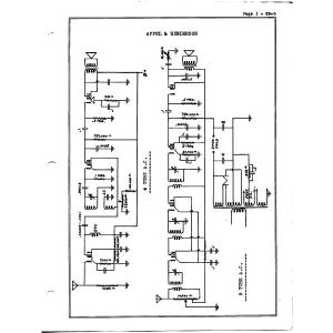 Appel & Henderson 4 Tube A.C.