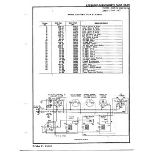 Capehart-Farnsworth A-7