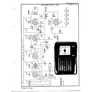 Concord Radio Corp. 1-514