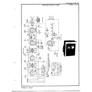 Concord Radio Corp. 1-518