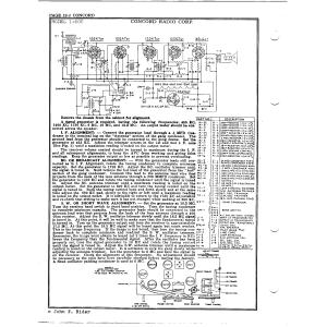 Concord Radio Corp. 1-608