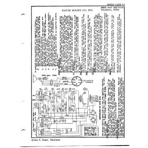David Bogen Co., Inc. B-20 Amplifier