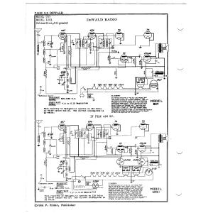 DeWald Radio Mfg. Corp. 1201