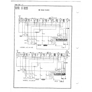 DeWald Radio Mfg. Corp. 24-45
