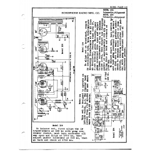 Echophone Radio Corp. 126