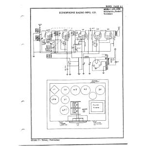 Echophone Radio Corp. 139C