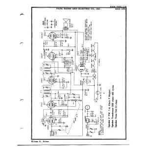 Fada Radio & Electric Co., Inc. 1001