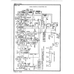 Fada Radio & Electric Co., Inc. 1480
