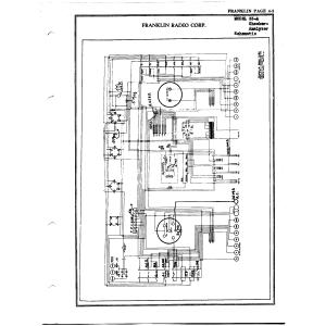 Franklin Radio Corp. 33-A