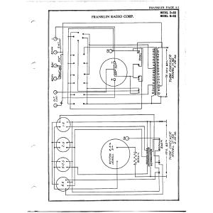 Franklin Radio Corp. D-32