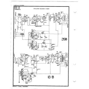 Fulton Radio Corp. 13B