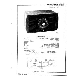 Gamble-Skogmo, Inc. 05RA33-43-8136A