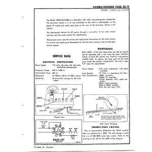 Gamble-Skogmo, Inc. 15RA2-43-9105A